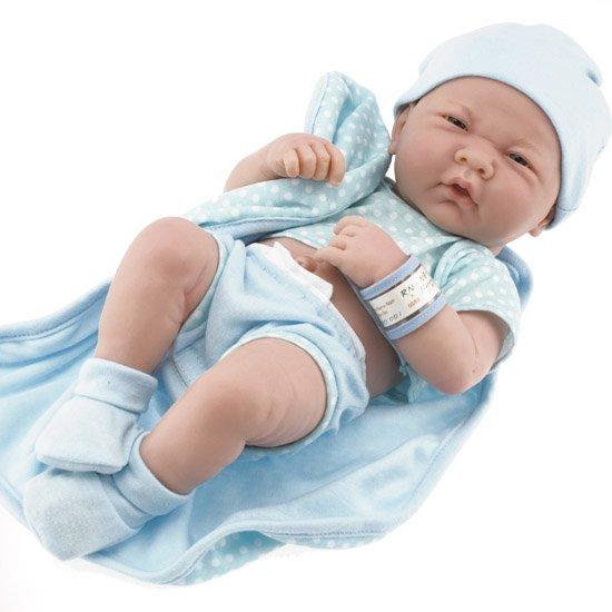 Berenguer La Newborn Real Boy 18540 | Baby Doll Be Mine